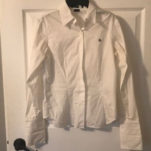 Ralph Lauren white button down